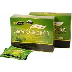 Combo 3 Hộp Trà giảm cân Green Coffee 1000