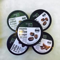 Tẩy Tế Bào Chết Toàn thân Organic Coffee Sugar Body Scrub