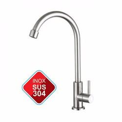 Vòi Rửa Chén Inox 304 Nước Lạnh - Vòi Rửa Bát - Vòi Bếp