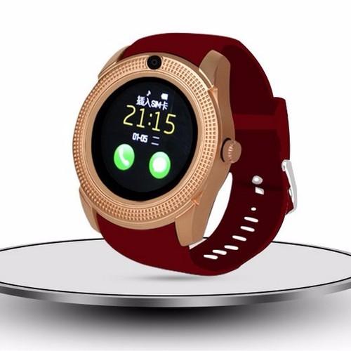 Đồng hồ thông minh Smart Watch V8 mặt tròn có khe sim và thẻ nhớ - 11063749 , 6804139 , 15_6804139 , 319000 , Dong-ho-thong-minh-Smart-Watch-V8-mat-tron-co-khe-sim-va-the-nho-15_6804139 , sendo.vn , Đồng hồ thông minh Smart Watch V8 mặt tròn có khe sim và thẻ nhớ