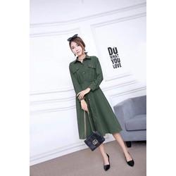 Váy DN8801 trẻ trung, phong cách Hàn Quốc