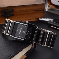 Đồng hồ nam mặt vuông dây đá Chenxi Zen99