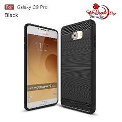 Ốp lưng Samsung Galaxy C9 Pro chống sốc vân carbon