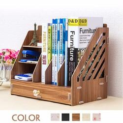 Kệ sách gỗ mini để bàn làm việc