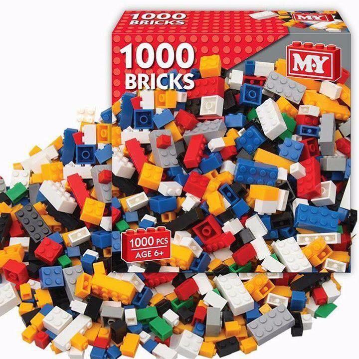 Bộ xếp hình Lego 1000 chi tiết 1