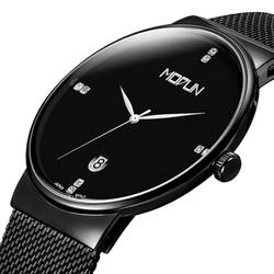 Đồng hồ MODUN siêu mỏng máy Nhật, đơn giản tinh tế - Mã số:DH1752