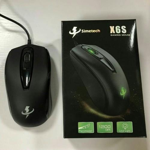 Chuột SIMETECH chuyên game X6S có led