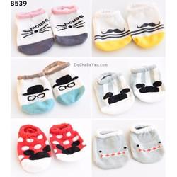 Vớ tất trẻ em Hàn Quốc set 4 đôi