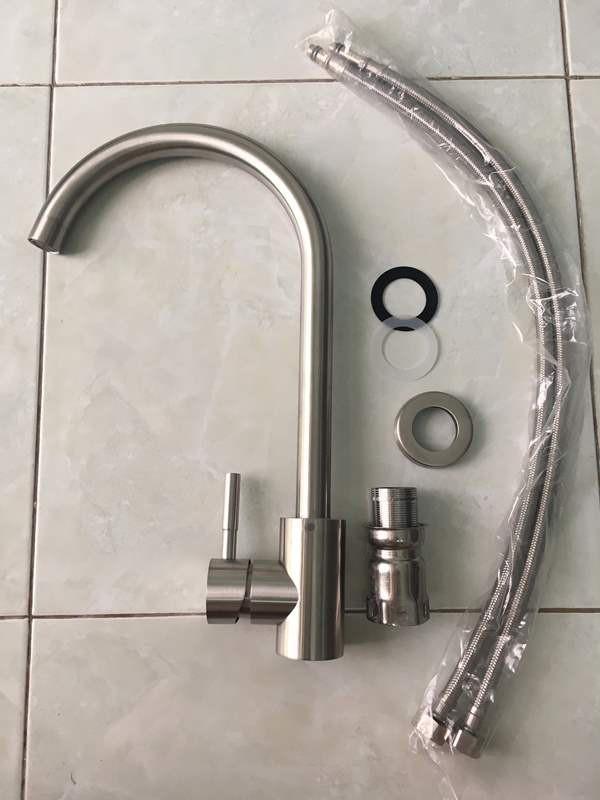 Vòi Rửa Chén Nóng Lạnh Inox 304 - Vòi Bếp Nước Nóng Lạnh SUS 304 3