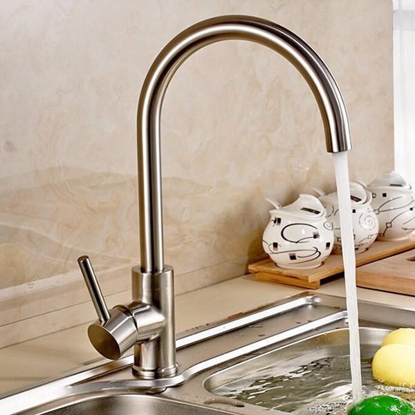 Vòi Rửa Chén Nóng Lạnh Inox 304 - Vòi Bếp Nước Nóng Lạnh SUS 304 1