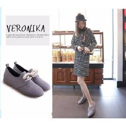 giày nữ dây bệt 3 màu đen ,xám ,vàng