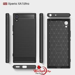 Ốp lưng Sony Xperia XA1 Ultra chống sốc vân carbon