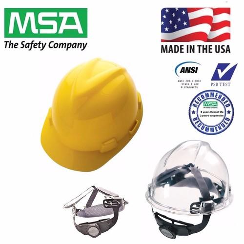 Nón bảo hộ MSA V-Gard màu vàng - núm vặn - Hàng Mỹ - 4920691 , 6811320 , 15_6811320 , 729000 , Non-bao-ho-MSA-V-Gard-mau-vang-num-van-Hang-My-15_6811320 , sendo.vn , Nón bảo hộ MSA V-Gard màu vàng - núm vặn - Hàng Mỹ
