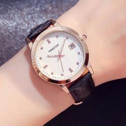Đồng hồ thời trang dây da cao cấp