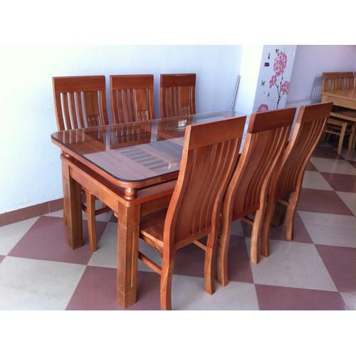 bộ bàn ân 6 ghế gỗ sồi nga màu cánh gián - 4921585 , 6822223 , 15_6822223 , 5200000 , bo-ban-an-6-ghe-go-soi-nga-mau-canh-gian-15_6822223 , sendo.vn , bộ bàn ân 6 ghế gỗ sồi nga màu cánh gián