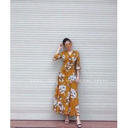 Đầm Maxi Họa Tiết Hoa Xuân