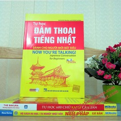 Sách Tự học đàm thoại tiếng Nhật dành cho người mới bắt đầu - Kèm CD