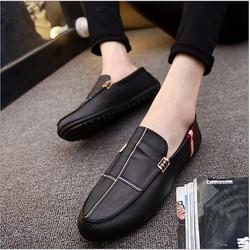 Giày lười da nam phong cách - GLD07