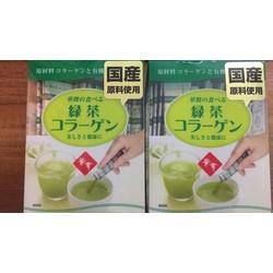 Hanamai collagen tính chất trà xanh Nhật Bản