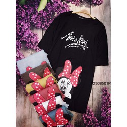 Đầm suông Mickey tay con hàng thiết kế- MS: S2608101 Gs 105k