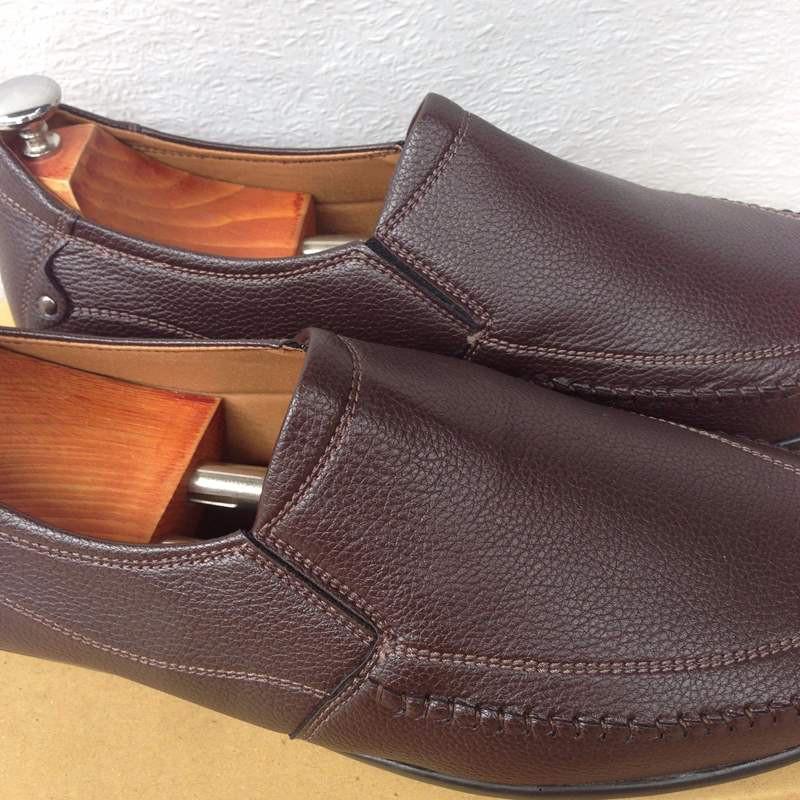 Giày mọi nam màu nâu đất thời trang kiểu dáng mới 20