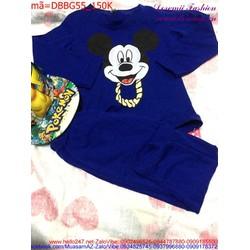 Bộ đồ mặc nhà, đi chơi hình chuột Micky dễ thương đáng yêu