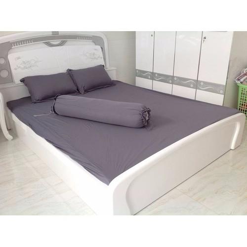 [Siêu sale] [hổ trợ pvc tối đa 30k] bộ ga giường thun hàn quốc bộ 4 món