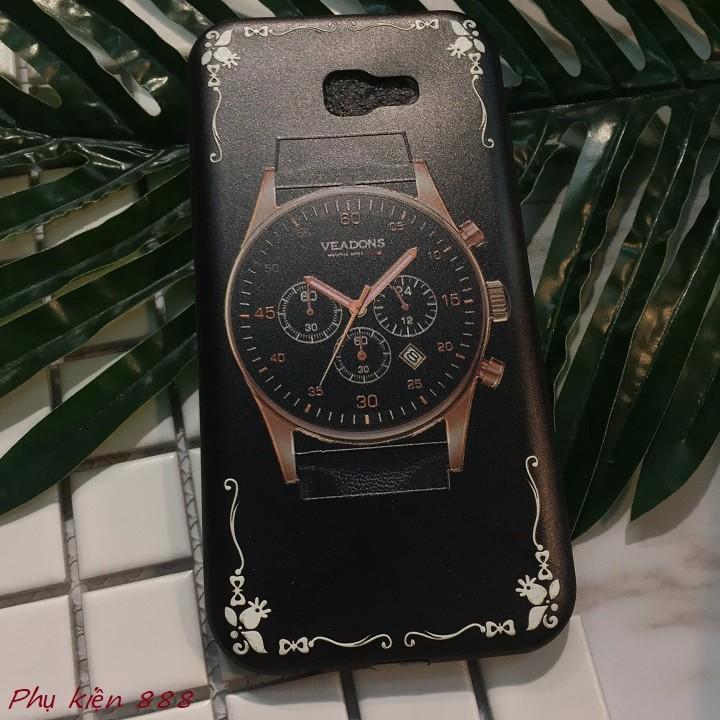 Ốp lưng Samsung Galaxay A7 2017 đồng hồ 1