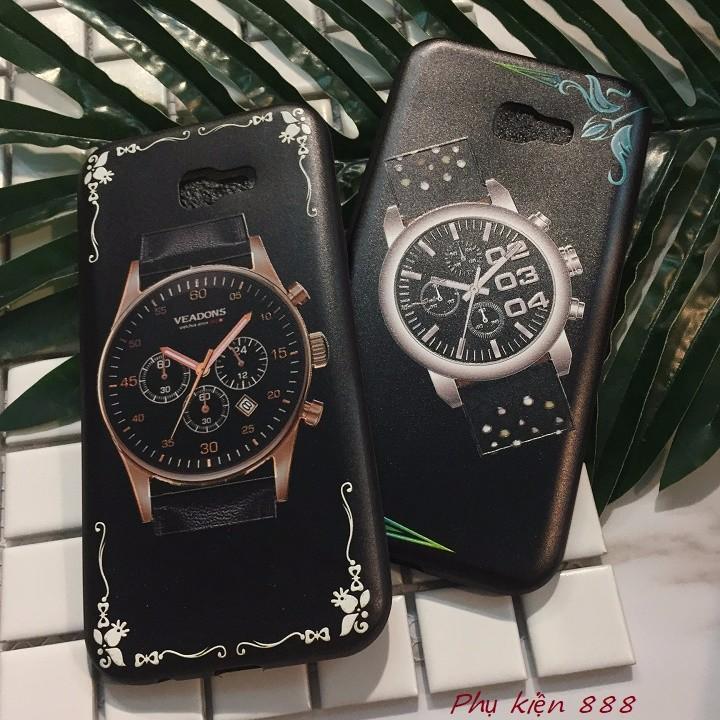 Ốp lưng Samsung Galaxay A7 2017 đồng hồ 5