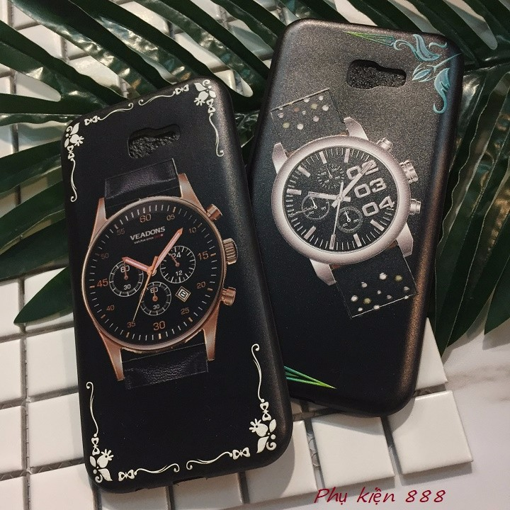 Ốp lưng Samsung Galaxay A7 2017 đồng hồ 7