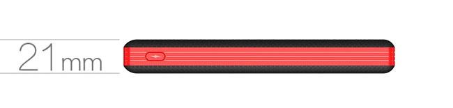 Pin sạc dự phòng chính hãng Li Polymer LED display Pineng PN-969 8