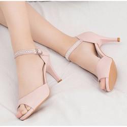 Giày cao gót hở mũi thời trang hàng cao cấp
