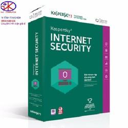 Phần mềm diệt virus Kaspersky Internet Security 2017 1PC FULL BOX
