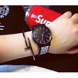 Đồng hồ thời trang nam nữ G2369 cá tính Unisex