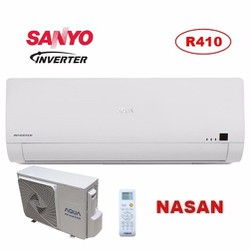 Free Ship HCM,B. Dương máy lạnh Sanyo Aqua inverter 2.0 HP