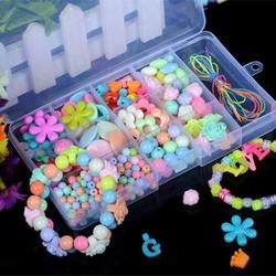 Bộ hạt làm trang sức handmade sáng tạo cho bé hơn 350 món