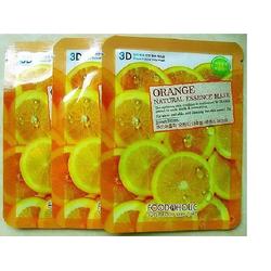 Combo 5 túi mặt nạ 3D Hàn Quốc chiết xuất từ cam