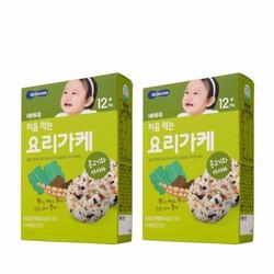 Rong Biển, thịt chay và tảo bẹ trộn cơm BeBecook cho bé 2 hộp