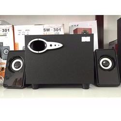 Loa nghe nhạc bass có dây dùng cho máy tính PC và Laptop Loa 3 loa