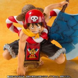 Mô Hình Gold Luffy - One Piece