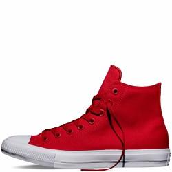 Giày Vải Chuck II Đỏ Tươi Cổ Cao - Nam