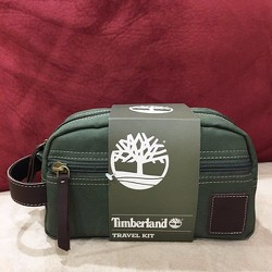 Ví Du Lịch Timberland Water Resistant Canvas Travel Kit Green