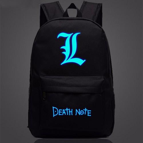 Ba lô vải dù phát quang Death Note N119