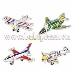 Đồ chơi lắp ghép mô hình giấy 3D - Plane Series