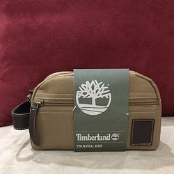 Ví Du Lịch Timberland Water Resistant Canvas Travel Kit Khaki