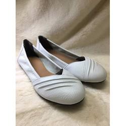 Giày búp bê - trắng