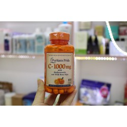Viên uống vitamin C 1000 puritans pride - cpuritan