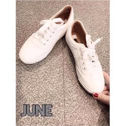 giày thể thao trắng, nâu
