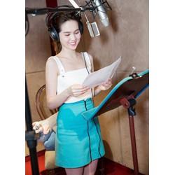 Set Áo 2 Dây Và Chân Váy Chữ A Xinh Như Ngọc Trinh