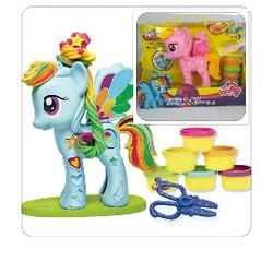 Bộ đồ chơi đất nặn trang trí cho ngựa Pony